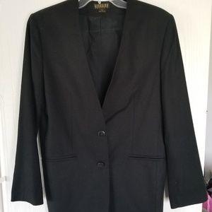 Ladies Black Silk Blazer